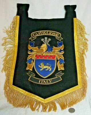 Castiglione Italy flag banner coat of arms