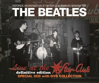 THE BEATLES  Live At Star Club 1962 Definitive Edition Press 2CD + 1DVD  *F/S