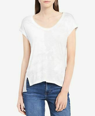 5a240992c5f880 CALVIN KLEIN  44 Womens New 1282 White Short Sleeve Top S Petites B+ ...