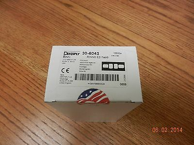 Dentsply # 30-6043 RINN EZ-Tab Film Mount. NEW 100 pieces