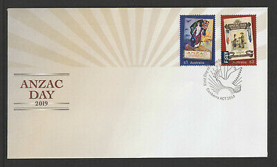 Australia 2019 : ANZAC DAY 2019 : First Day Cover, Mint Condition