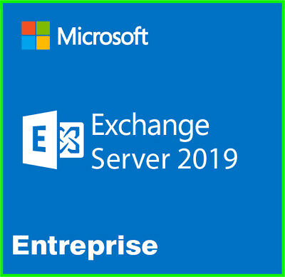 MICROSOFT EXCHANGE SERVER 2019 Enterprise Genuine Product Key + Download  Link