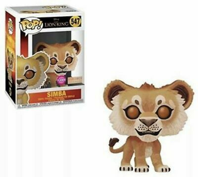 Funko Pop Disney Lion King Live - FLOCKED SIMBA - Boxlunch Exclusive - PREORDER