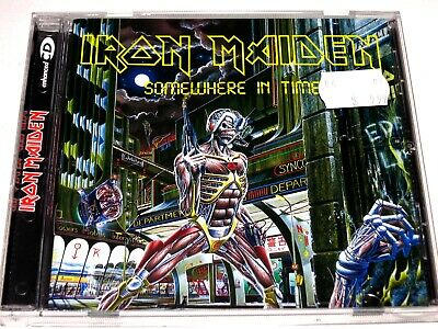 cd-album, Iron Maiden - Somewhere In Time, 8 Tracks