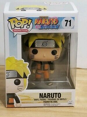 Funko Pop! Animation Naruto Shippuden Naruto Uzumaki Vinyl Figure #71 NEW