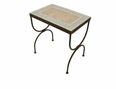 Casa Moro Oriental mosaïque Table Ø 80 cm Bordeaux Tables ...