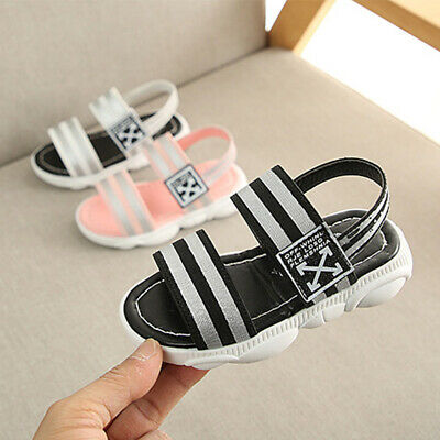 Fashion Newborn Baby Girls Leather Sandals Toddler Kids Hollow Soft Sole Shoes