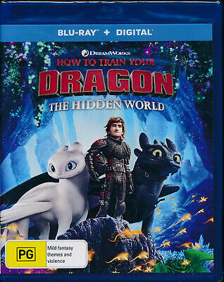 How To Train Your Dragon The Hidden World Blu-Ray + Digital NEW