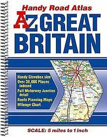 Great Britain Handy Road Atlas by Geographers' a-Z Ma... | Book | condition good