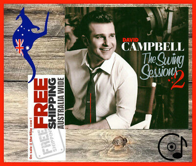 David Campbell The Swing Sessions 2 CD Exc. Cond + FREE Postage!