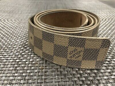 3a438092f671 LOUIS VUITTON MEN belt Sun Tulle Boston 35MM M9674T Damier -  399.00 ...