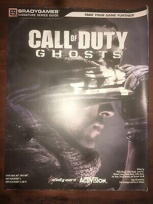 CALL OF DUTY GHOSTS Strategy Guide (Bradygames)