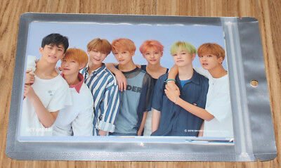 NCT DREAM We Go Up SMTOWN GIFTSHOP OFFICIAL GOODS 4X6 PHOTO SET SEALED