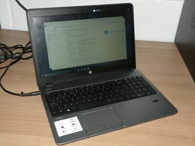 HP Probook 455 Intel Laptop AMD A4-4300 APU Radeon 500GB Mem 4GB RAM Win 10