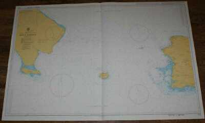 Nautical Chart No 472 West Indies, Dominican Republic, Puerto Rico, Isla de Mona