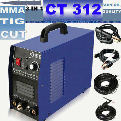 CT312/CT312 Pilot Arc TIG Arc Air Plasma Cutter Welding Machine & Consumable DIY