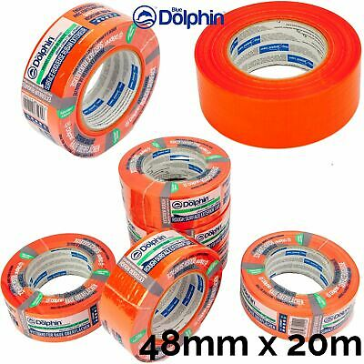 Professional Rough Surface Exterior Tape Clean Peel UV Resistant Long 48mm x20m