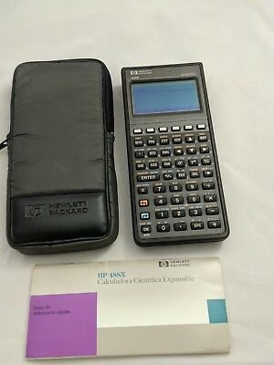 Calculadora HP 48S con funda  # 453