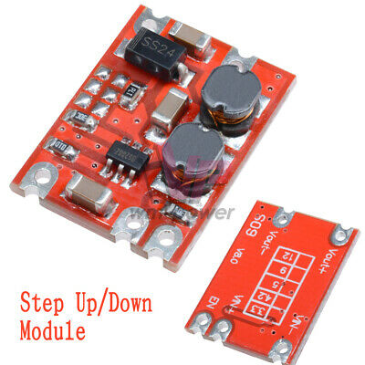 DC-DC 2.5V-15V To 3.3V/4.2V/5V/9V/12V Automatic Buck-Boost Step Up Down Board