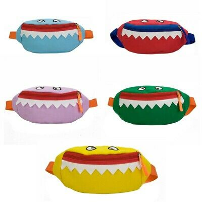 Children Small Cartoon  Cute Fanny Pack Travel Coin Purse Chest Belt Waist Bag