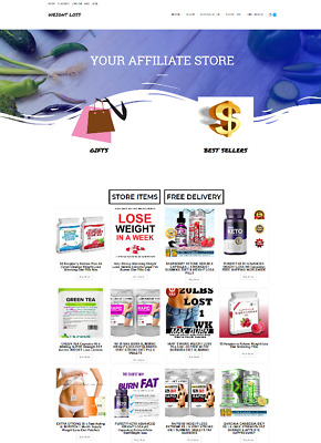 Weight Loss Website Easy Home Business - Free Domain / Hosting