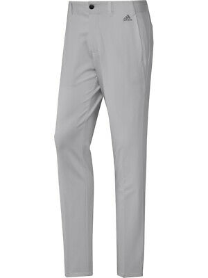 Adidas Ultimate 3-Stripe Tapered Pant - Grey Two F17 -  Mens