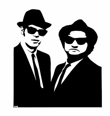 The Blues Brothers vinyl decal sticker VW JDM laptop window funny music decal