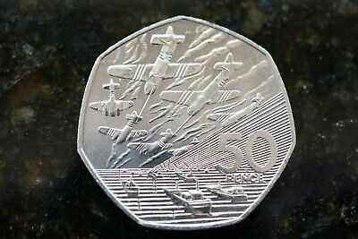 1994 Uncirculated (or Near) Normandy / D Day Landings - Fifty Pence 50p Coin