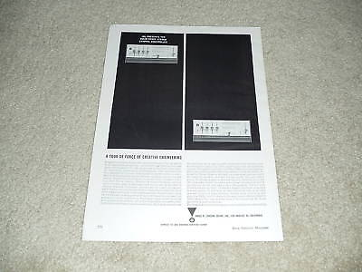Beautiful Ad JBL Olympus Speaker Ad Info 1 page Article 1964