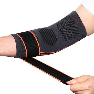 1PC Sports Adjustable Sleeve Fitness Elbow Brace Badminton Elastic Professional