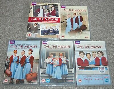 BBC - CALL THE MIDWIFE - SERIES 0NE to SEVEN - 6/7 NEW - FREE AND FAST DELIVERY