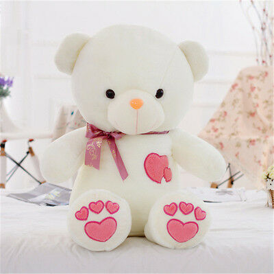 2019 Giant Big Cute Huge Stuffed Teddy Bear Plush toys Soft doll Pink Love 60CM