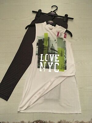 Girls Leggings And Top Set Age 7 Bnwt