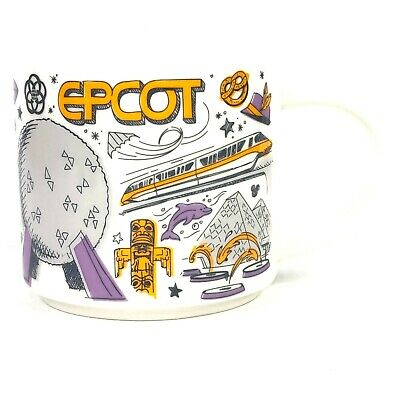 Starbucks Disney Epcot Been There Series Collection Coffee Mug Cup 14oz