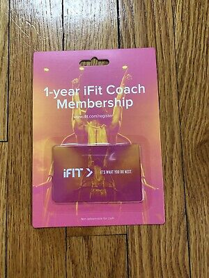 IFIT COACH FAMILY Plan 1 Year Membership - $80 00 | PicClick