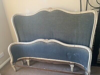 Vintage french corbeille Double Bed