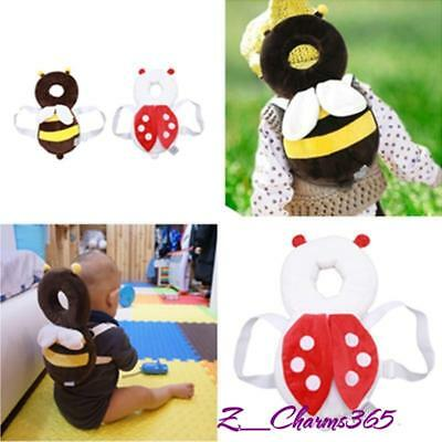 Baby Infant Toddler Newborn Head Back Protector Safety Pad Harness Headgear SK