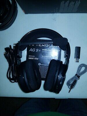 PDP Afterglow AG 9 Wireless Headset for XBOX
