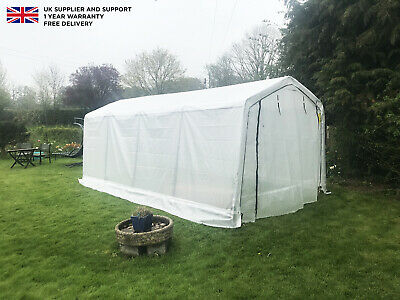 Outdoor Plastic Large 20ft x 10ft Universal Shelter Auto Hay Storage PVC Cover