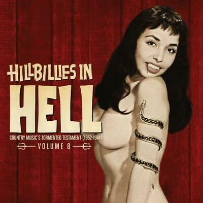 VARIOUS ARTISTS: HILLBILLIES IN HELL: VOL 8 (Ltd ) - RSD 2019 {LP vinyl}