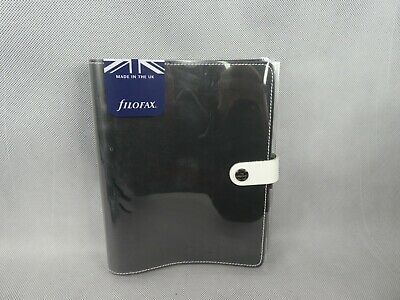 Filofax A5 Original Personal Organiser Black Leather New Needs 2019 Pages