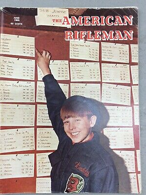 The American Rifleman Magazine June 1969 Junior Championship Civic Support