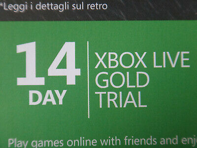 14 Day Xbox Live Gold Membership Download Code