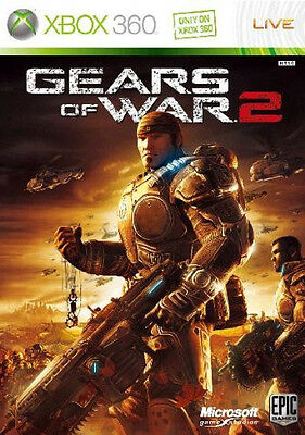 Used Xbox360 GEARS OF WAR 2 Japan Import xbox 360 Japanese Video Game