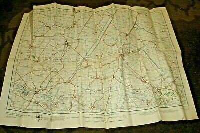 War Office Published Map 1941/Ely/56 x 76 cm