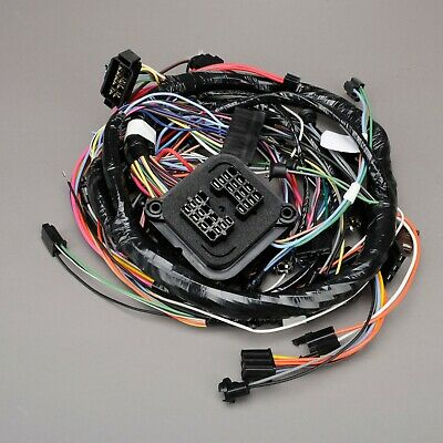 1970 corvette c3 dash wiring harness without air conditioning 1st design  697149