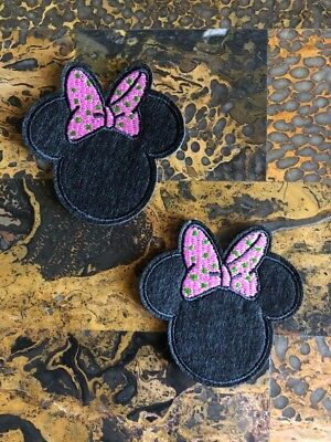 1 Captain Minnie Mouse Sailor Ship Nautical Embroidered Iron On Sew On Patch 3 L x 2.75 W SAME Day SHIPPING Before 12pm EST Free Shipping