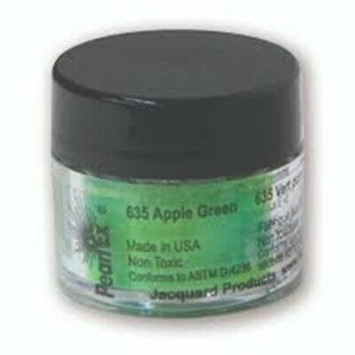 Pearl Ex Powdered Pigments (1) 3 Gram 635 APPLE GREEN by Jacquard