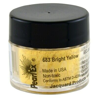 Pearl Ex Powdered Pigments (1) 3 Gram 683 BRIGHT YELLOW by Jacquard
