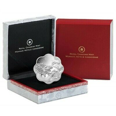 2012 $15 Lunar Lotus Year of Dragon - Pure Silver Coin